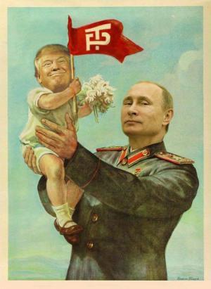 a putin-baby-trump